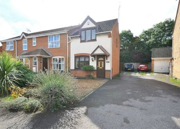 Thumbnail 2 bed end terrace house for sale in Skeggles Close, Stukeley Meadows, Huntingdon, Cambridgeshire