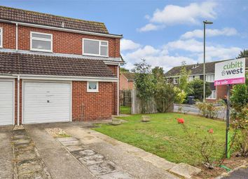 Thumbnail 3 bed semi-detached house for sale in Brook Gardens, Emsworth, Hampshire