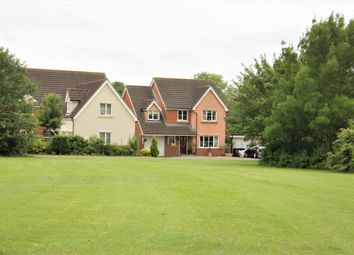 Thumbnail 4 bed detached house for sale in Cavendish Way, Highfields Caldecote