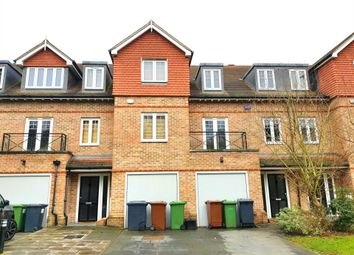 Thumbnail 4 bed town house to rent in Highbridge Close, Radlett