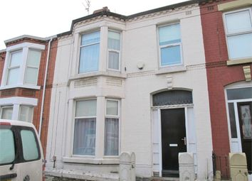 Thumbnail 4 bedroom terraced house for sale in Russell Road, Mossley Hill, Liverpool, Merseyside