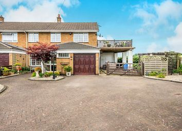 Thumbnail 3 bed semi-detached house for sale in East Road, Brinsford, Wolverhampton