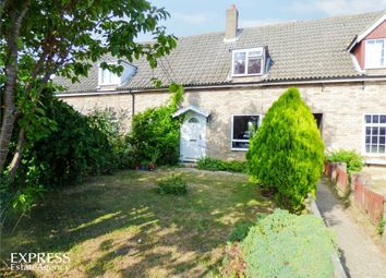 Thumbnail 3 bed terraced house for sale in Burrough Green, Newmarket, Cambridgeshire