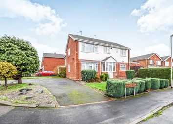 Thumbnail 4 bed semi-detached house for sale in Launceston Close, Park Hall, Walsall