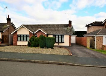 Thumbnail 2 bed detached bungalow for sale in Springfield Crescent, Kibworth Beauchamp, Leicester