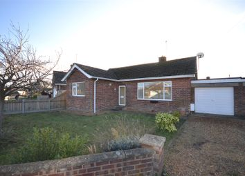 Thumbnail 3 bed detached bungalow for sale in South Moor Drive, Heacham, King's Lynn