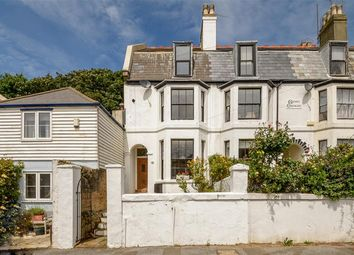 Thumbnail 4 bedroom end terrace house for sale in Wilberforce Road, Sandgate, Kent
