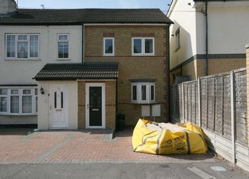 Thumbnail 3 bed end terrace house for sale in Aveley Road, Romford