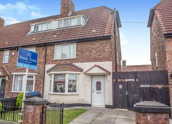 Thumbnail 4 bed terraced house for sale in Gainford Road, Liverpool