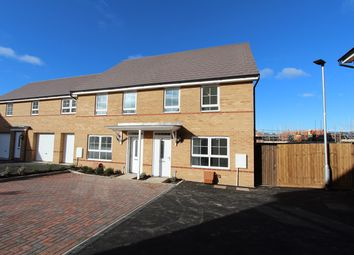 Thumbnail 3 bedroom end terrace house for sale in Fells Paddock, Marston Moretaine