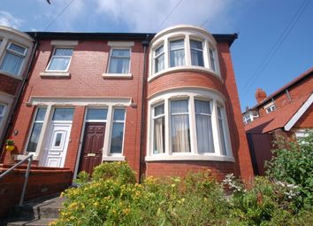 Thumbnail 3 bed semi-detached house for sale in Glastonbury Avenue, Marton, Blackpool, Lancashire