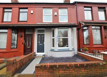 Thumbnail 3 bedroom terraced house to rent in Hartington Road, West Derby, Liverpool