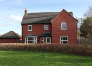 4 bed detached house for sale in Guttery Close, Wem, Shrewsbury SY4
