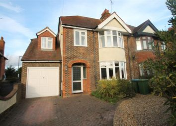 Thumbnail 4 bed semi-detached house for sale in Cornwall Road, Littlehampton, West Sussex