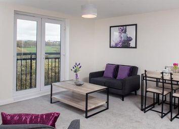 Thumbnail 2 bed flat for sale in Rowlandson Way, New Bradwell, Milton Keynes