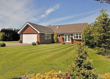 Thumbnail 4 bed bungalow for sale in Wood Lane South, Adlington, Macclesfield, Cheshire