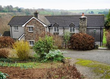 Thumbnail 4 bed detached house for sale in Lower Clicker Road, Menheniot, Liskeard