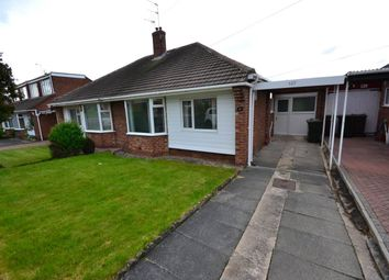 Thumbnail 2 bed semi-detached bungalow to rent in Rayleigh Drive, Woodlands Park, Newcastle Upon Tyne