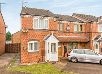 Thumbnail 2 bedroom end terrace house for sale in Crownmeadow Drive, Tipton
