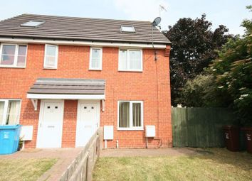 Thumbnail 3 bed terraced house to rent in Wormley Court, Hull
