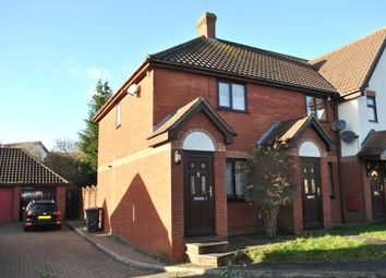 Thumbnail 2 bed end terrace house to rent in Tabbs Close, Letchworth Garden City
