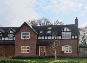 Thumbnail 5 bed detached house for sale in Mondrem Green, Little Budworth, Tarporley