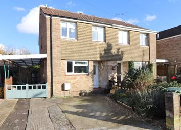 Thumbnail 3 bed semi-detached house for sale in Prestwood Road, Hedge End, Southampton, Hampshire