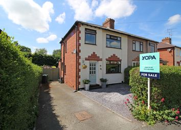 Thumbnail 3 bed semi-detached house for sale in The Crescent, Newton, Chester