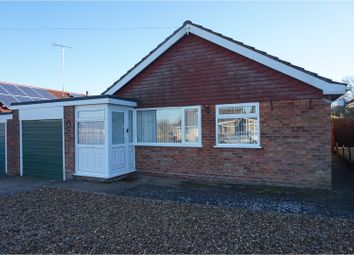 Thumbnail 3 bed detached bungalow for sale in Hillcrest Avenue, Toftwood, Dereham