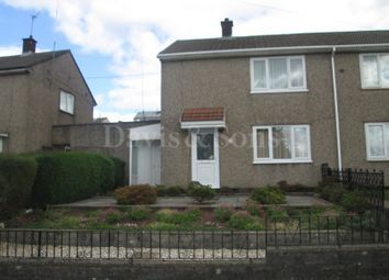Thumbnail 2 bed semi-detached house for sale in Almond Avenue, Risca, Newport.