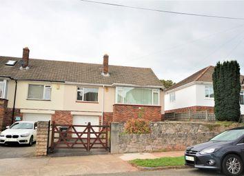 Thumbnail 2 bed semi-detached bungalow to rent in Moor Lane, Watcombe Park, Torquay