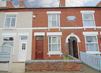 Thumbnail 4 bed terraced house to rent in Oxford Street, Church Gresley, Swadlincote