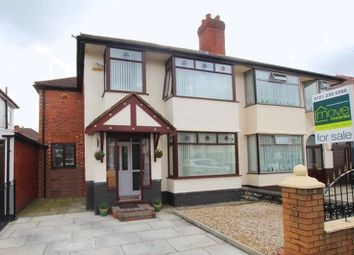 Thumbnail 4 bedroom semi-detached house for sale in Eaton Gardens, West Derby, Liverpool