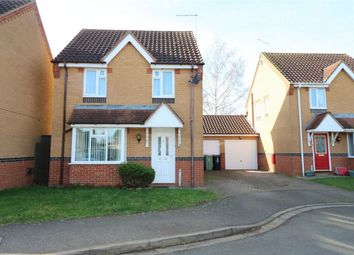 Thumbnail 3 bed detached house for sale in Sorrel Close, Deeping St James, Market Deeping, Lincolnshire