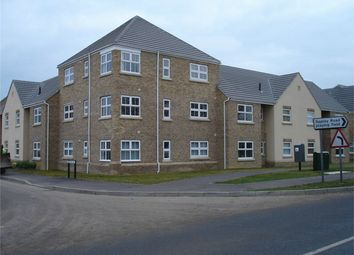 Thumbnail 2 bed flat to rent in Beevor Court, Sapley, Huntingdon