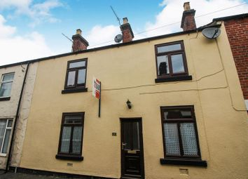3 bed terraced house for sale in Britannia Street, Leek, Staffordshire ST13