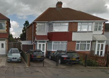 Thumbnail 3 bed semi-detached house to rent in Belvoir Drive East, Leicester
