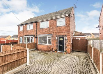 Thumbnail 3 bed semi-detached house for sale in Birch Grove, Townville, Castleford, West Yorkshire