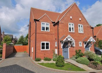 Thumbnail 3 bed semi-detached house for sale in Hine Close, Retford