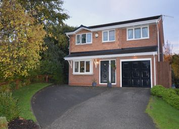 Thumbnail 4 bed detached house for sale in Kingsbury Court, Skelmersdale
