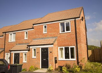 "Thumbnail 3 bed semi-detached house for sale in ""The Hanbury"" at Brookside, East Leake, Loughborough"