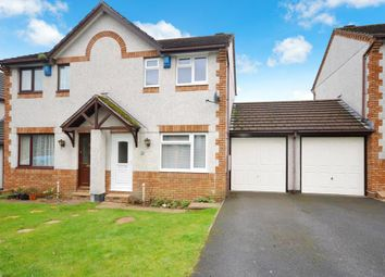 Thumbnail 2 bedroom semi-detached house to rent in Churchfields Drive, Bovey Tracey, Newton Abbot, Devon