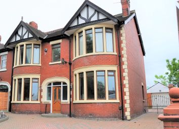 Thumbnail 4 bed semi-detached house for sale in Whitegate Drive, Blackpool, Lancashire