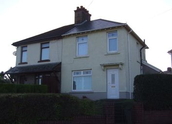 Thumbnail 2 bed semi-detached house for sale in Greenwood Road, Neath