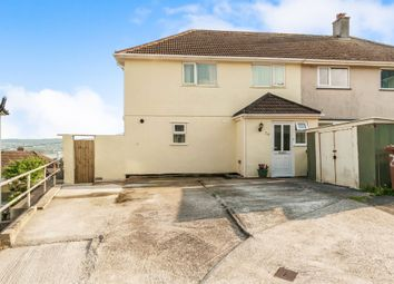 Thumbnail 4 bed semi-detached house for sale in Erme Gardens, Plymouth