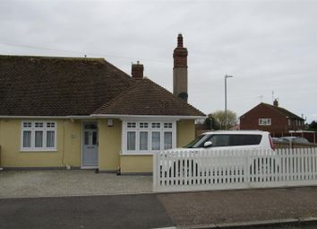 Thumbnail 2 bed semi-detached bungalow for sale in Oakdale Road, Herne Bay