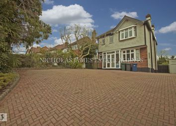 Thumbnail 5 bed detached house to rent in High Road, Whetstone, London