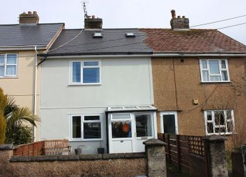 Thumbnail 2 bed terraced house for sale in Dobell Road, St. Austell