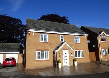 Thumbnail 4 bed detached house for sale in Noble Drive, Cawston, Rugby