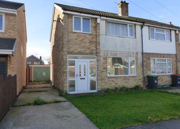 Thumbnail 3 bed semi-detached house for sale in Tavistock Close, Hucknall, Nottingham